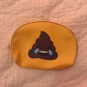Handbags - Laughing Poop Emoji Pouch